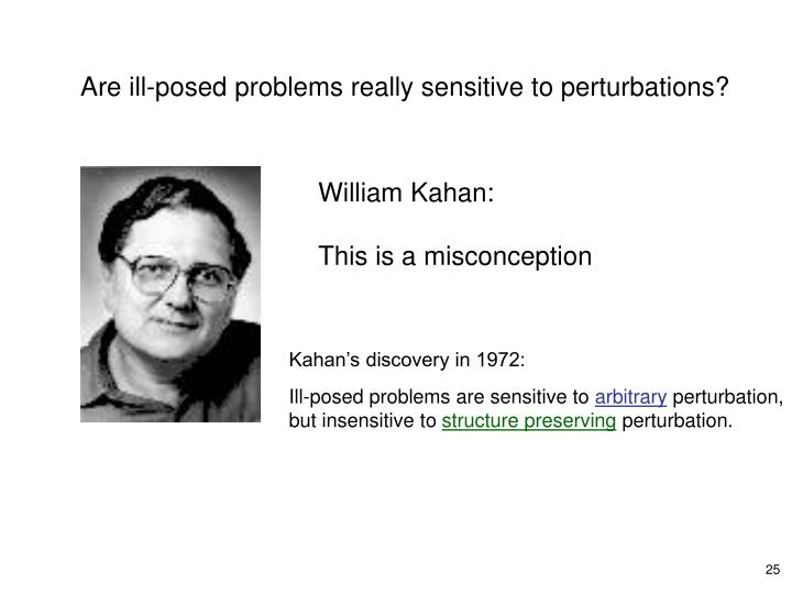 William Kahan: