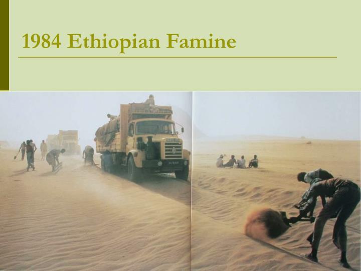 1984 Ethiopian Famine