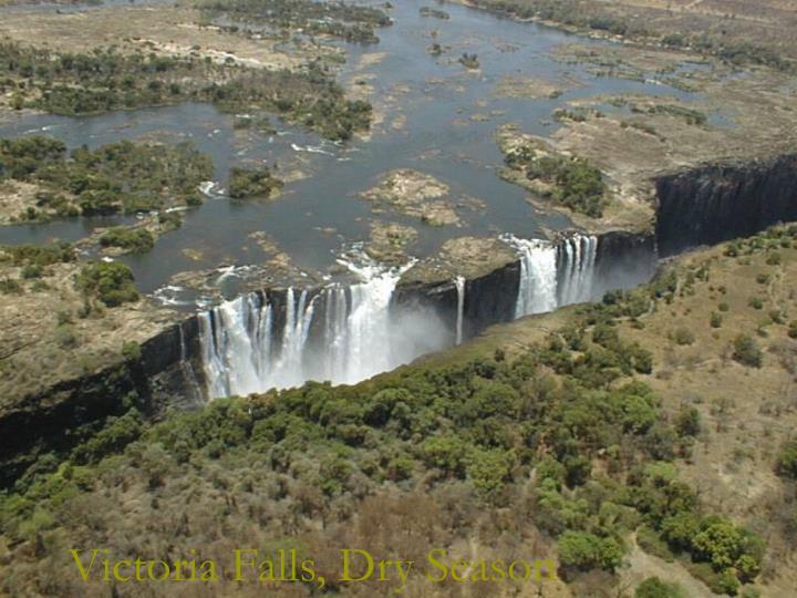 Victoria Falls, Dry Season
