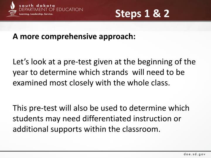 Steps 1 & 2