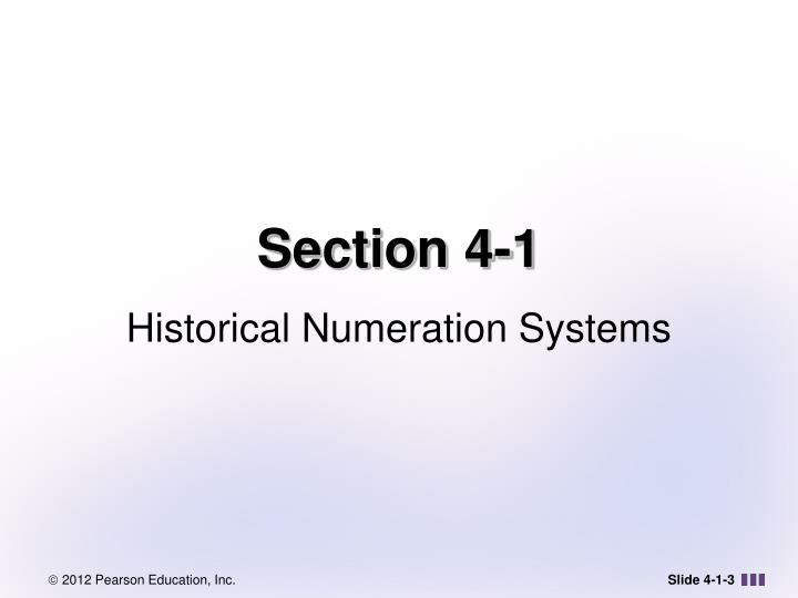Section 4 1