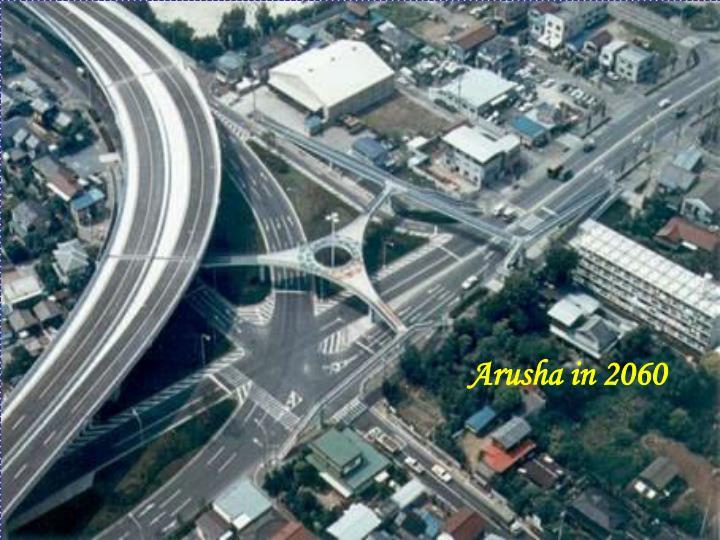 Arusha in 2060