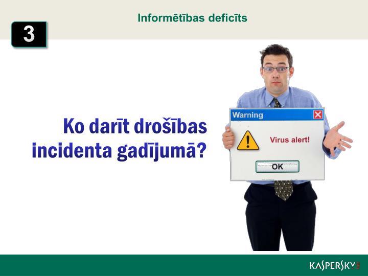 Informētības deficīts