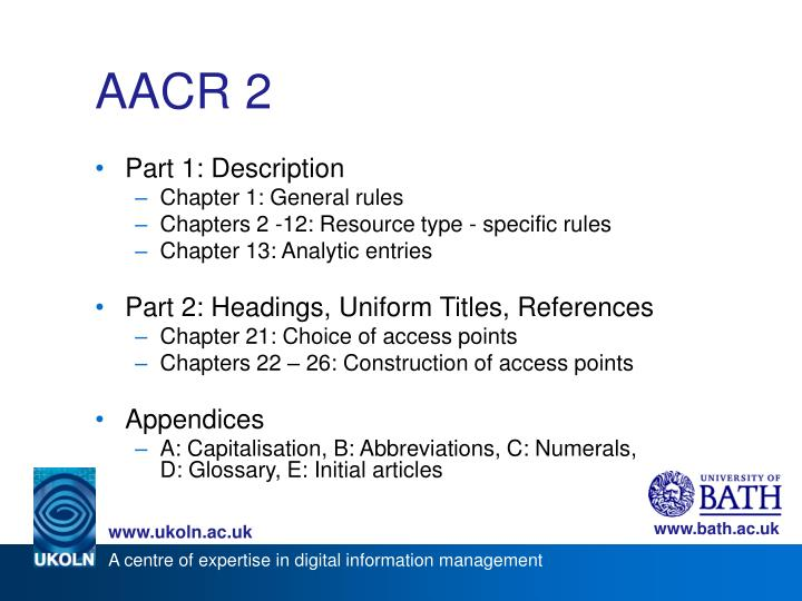 AACR 2