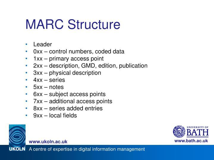 MARC Structure