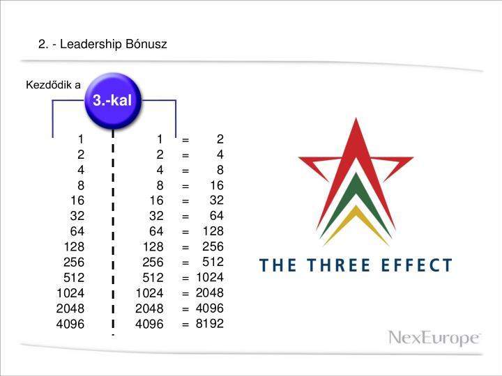 2. - Leadership Bónusz