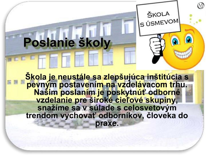 Škola           s úsmevom