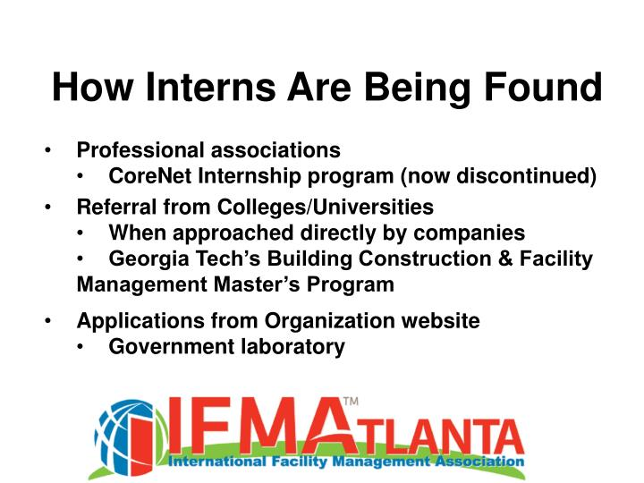 How Interns Are Being Found