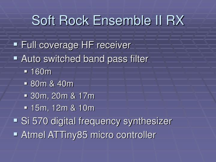 Soft Rock Ensemble II RX