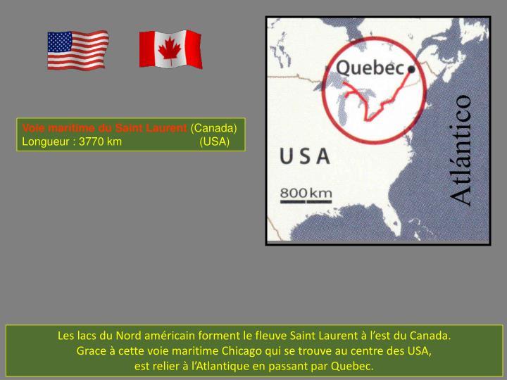 Voie marítime du Saint Laurent