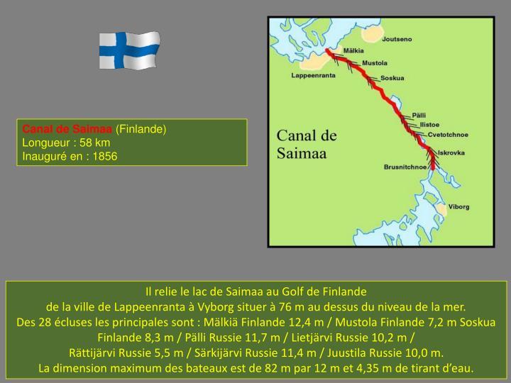 Canal de Saimaa
