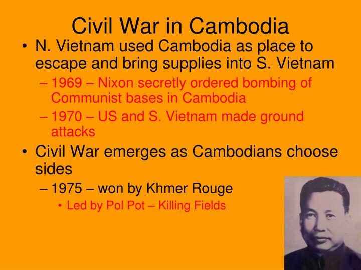 Civil War in Cambodia
