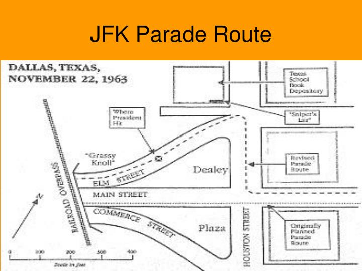 JFK Parade Route