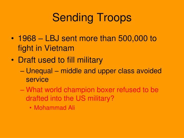 Sending Troops
