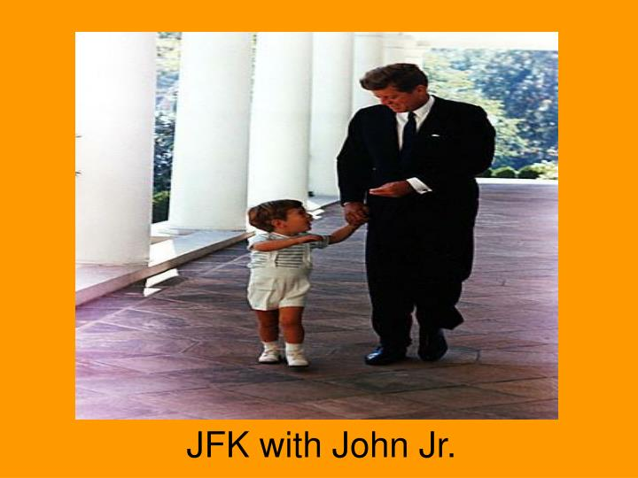 JFK with John Jr.