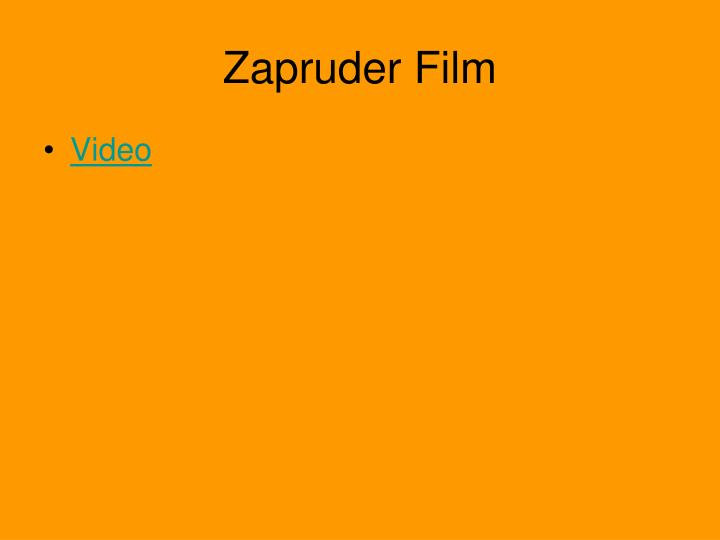 Zapruder Film
