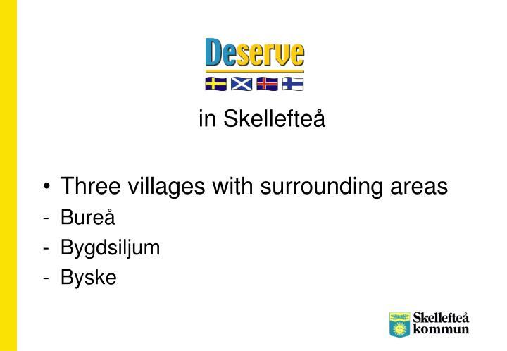 in Skellefteå