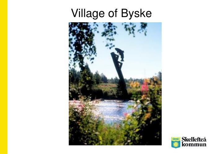 Village of Byske