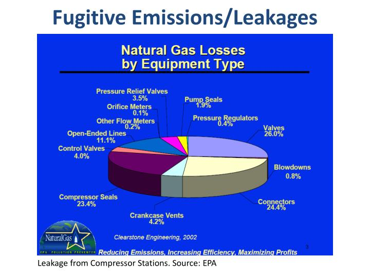 Fugitive Emissions/Leakages