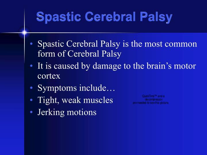 Spastic Cerebral Palsy