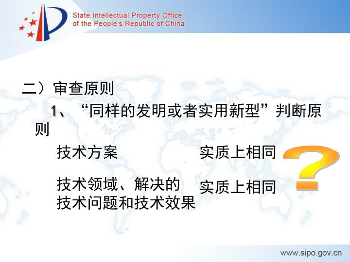 二)审查原则