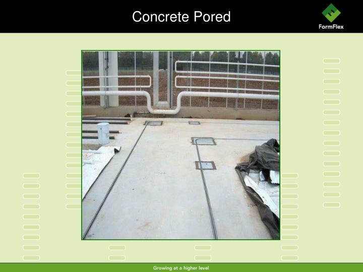 Concrete Pored