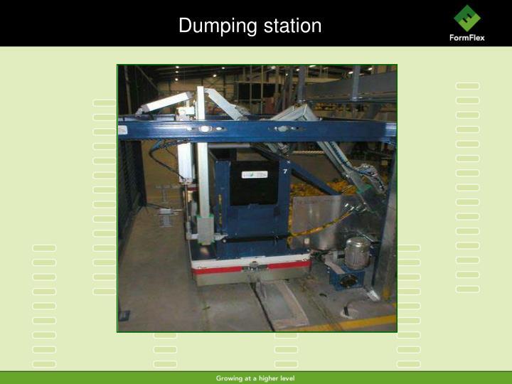 Dumping station