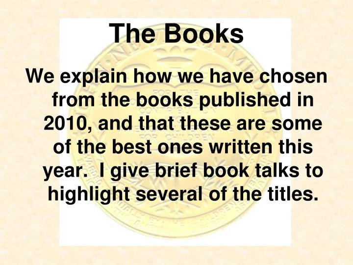 The Books