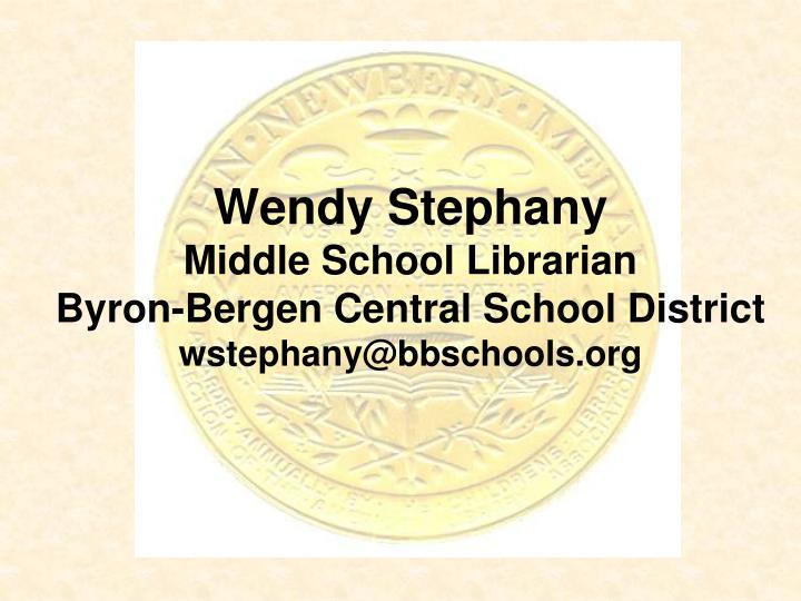 Wendy Stephany