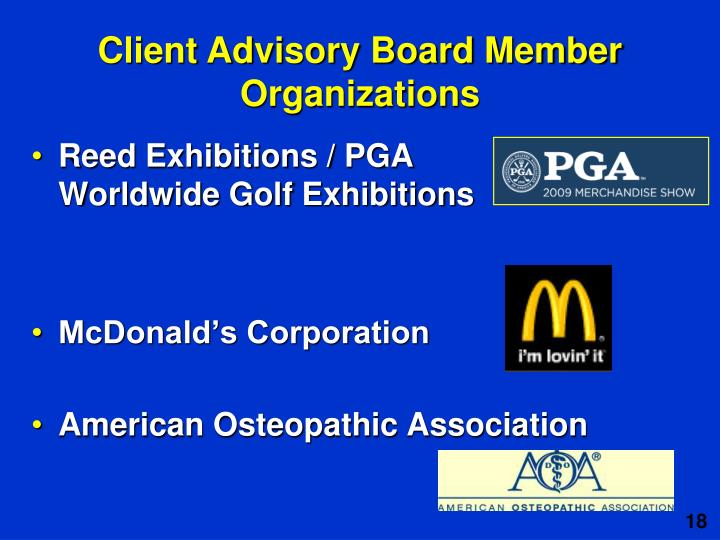 Reed Exhibitions / PGA
