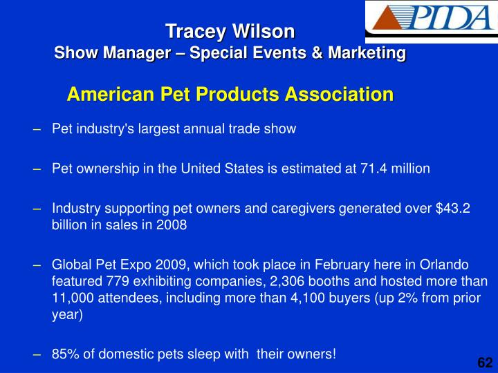 Pet industry's largest annual trade show