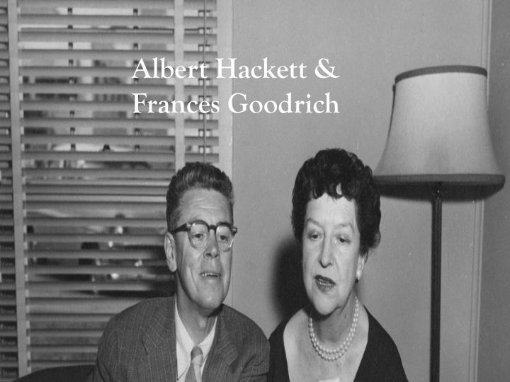 Albert Hackett &