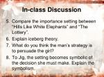 in class discussion1