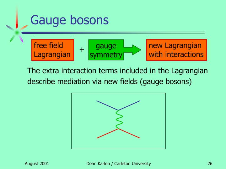 Gauge bosons