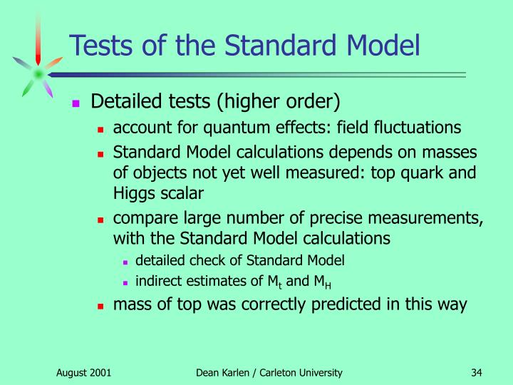 Tests of the Standard Model