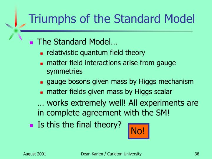 Triumphs of the Standard Model