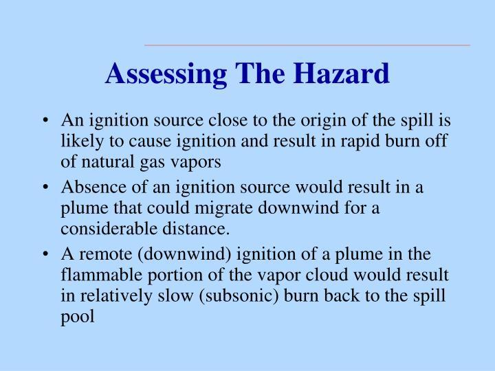 Assessing The Hazard