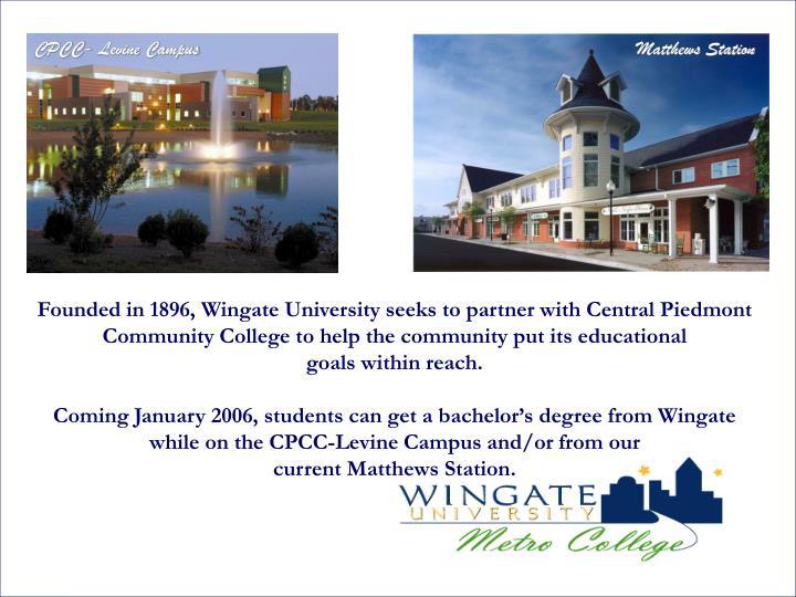 CPCC- Levine Campus