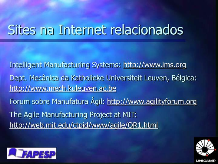 Sites na Internet relacionados