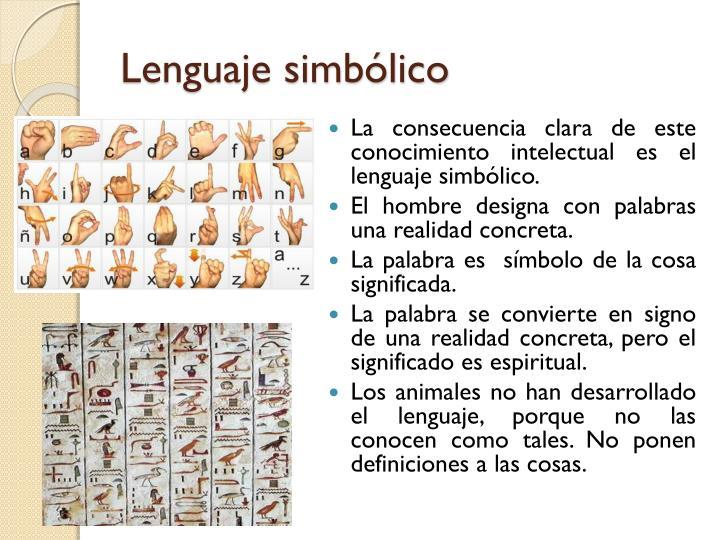 Lenguaje simbólico