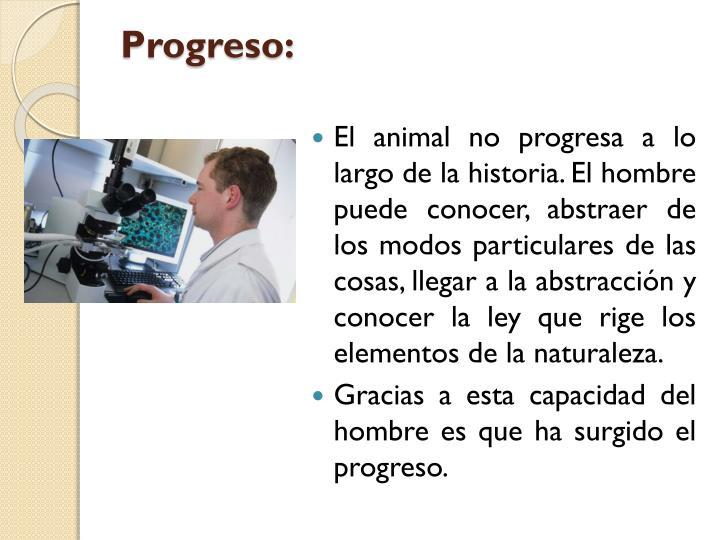 Progreso: