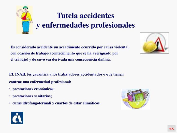 Tutela accidentes