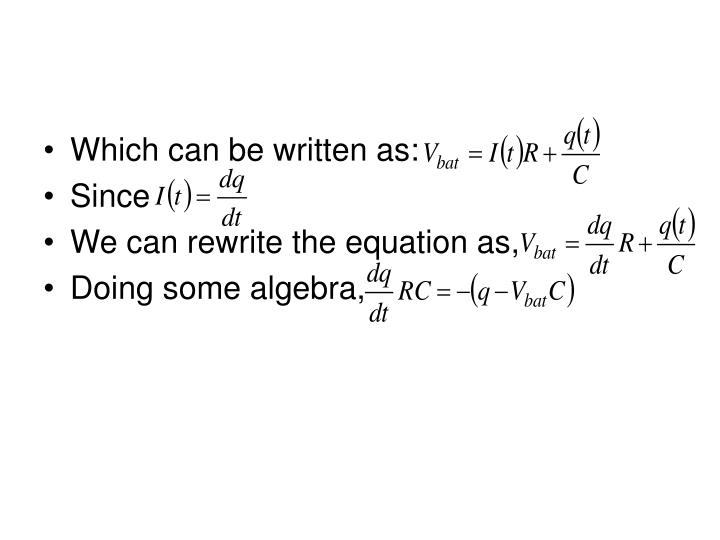 Which can be written as: