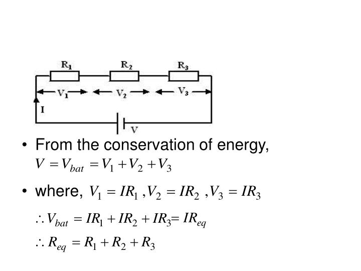 From the conservation of energy,