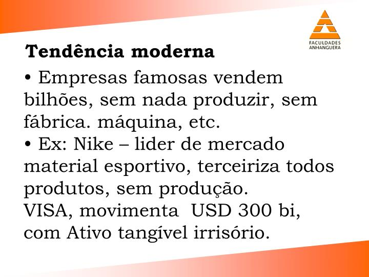 Tendncia moderna