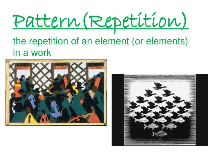 Pattern(Repetition)
