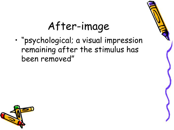 After-image