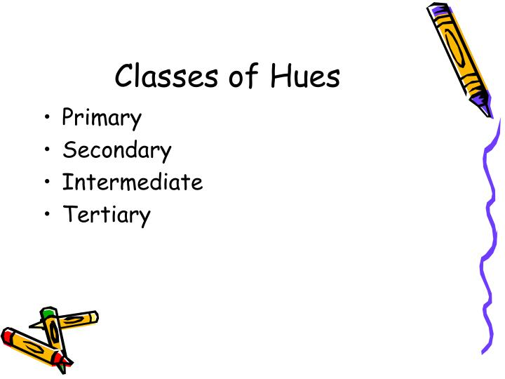 Classes of Hues
