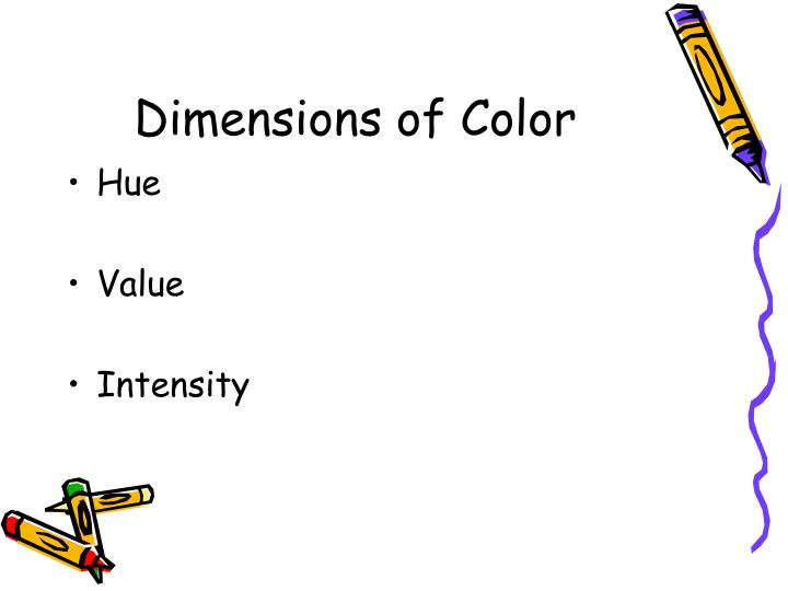 Dimensions of Color