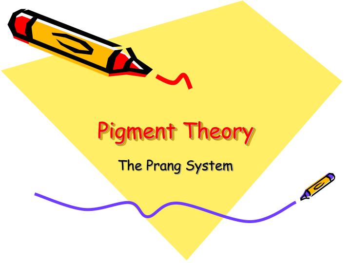 Pigment Theory